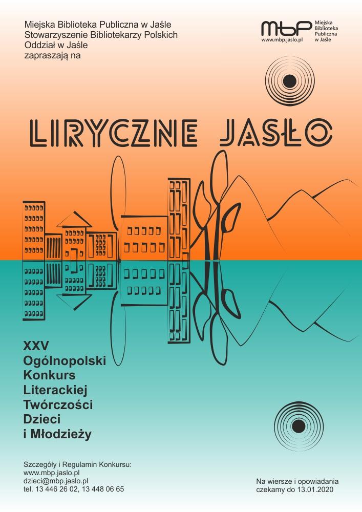 2020 01 13 Autorzy Na Start Xxv Konkurs Liryczne Jasło