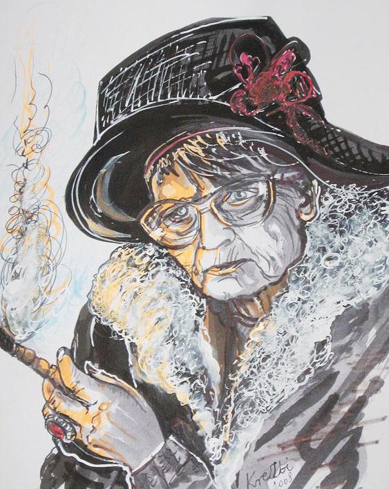 Portret artystyczny poetki Marianny Bocian, wyk. z autopsji Zbyszek Kresowaty - Krezbi