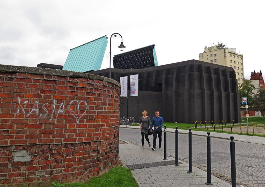 Gdański Teatr Szekspirowski z otwartym dachem. Fot. K . Konecka