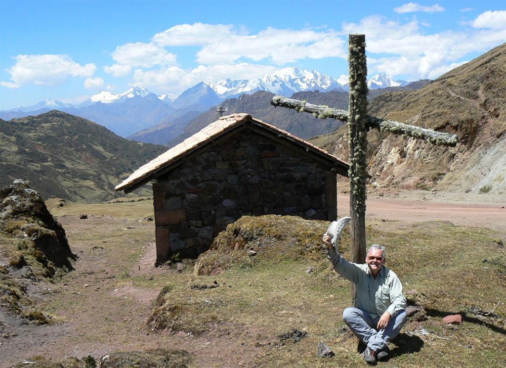 Autor w górach Vilcabamba (fot. ze zbiorów prywatnych)