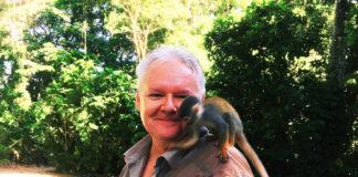 Autor w amazońskiej dżungli (fot. ze zbiorów prywatnych)