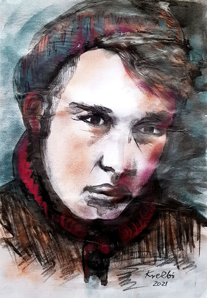 Zbigniew Ikona Kresowaty. Portret poety Witalija Biłozira, 2021