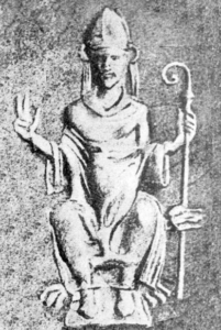 Wincenty Kadłubek wzór z pieczęci biskupiej