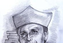 Portret prof. Stanisława S. Niciei, wyk. Zbyszek Ikona- Kresowaty 2021