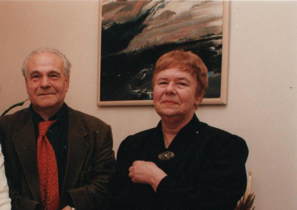 Anna Markowa i Zbigniew Irzyk, 1998. Fot. Andrzej Zgiet